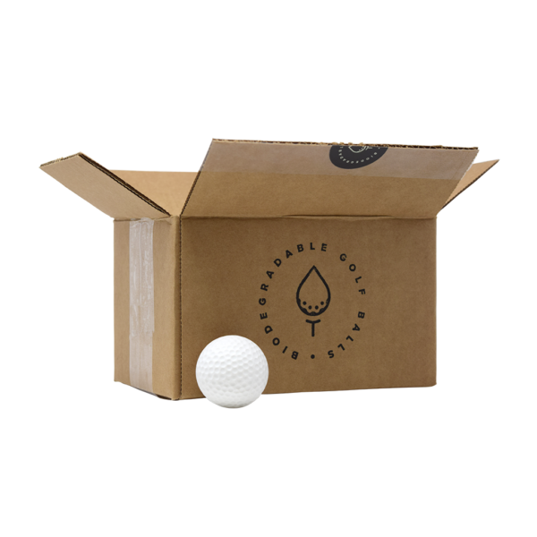 Pack of 24 Biodegradable Golf Balls (Water Soluble)