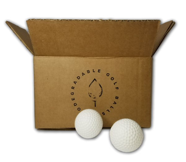 Biodegradable Golf Balls - Dissolvable in Water. Packaging.